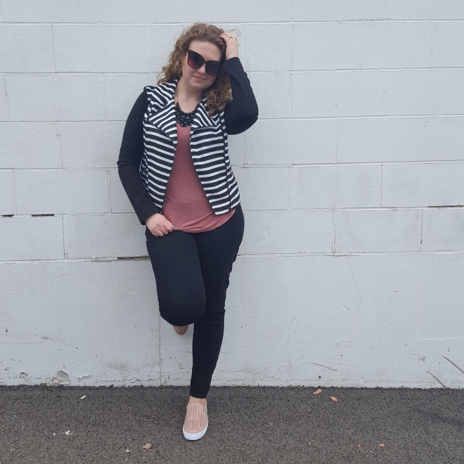 Spring Striped Jacket